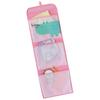KIDS SAFARI Hippo Hanging Wall Pockets, Pink