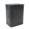 Chelsea Pattern Wicker Nursery Hamper, Espresso