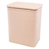 Redmon Chelsea Pattern Wicker Nursery Hamper, Tea Rose