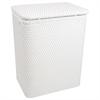 Chelsea Pattern Wicker Nursery Hamper, White