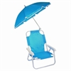 Beach Baby® Umbrella Chair, Blue
