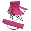 Beach Baby® Kids Folding Camp Chair with Matching Tote bag, Pink