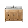 "Legion furniture 48"" Weathered Gray Sink Vanity Matching Granite From Wlf6036-49"", No Faucet, Weathered Light Brown"