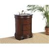 "Legion furniture 28"" Sink Vanity  - No Faucet, Medium Brown"