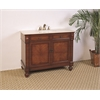 "Legion furniture 42"" Sink Vanity  - No Faucet, American Pecan"