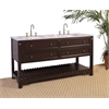 "68"" Sink Vanity - No Faucet, Cherry"
