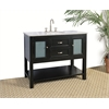 "Legion furniture 42"" Sink Vanity  - No Faucet, Ebony"