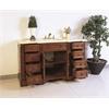 """Legion furniture 59"""" Sink Vanity  - No Faucet, Medium Walnut"""