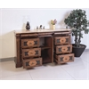 """Legion furniture 60"""" Sink Vanity  - No Faucet, Multi-Brown"""
