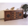 "Legion furniture 72"" Sink Vanity  - No Faucet, Multi-Brown"