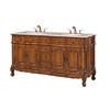 "Legion furniture 67"" Sink Vanity, Medium Walnut"