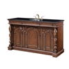 "60"" Sink Vanity, Medium Brown"