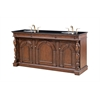 "Legion furniture 72"" Sink Vanity, Medium Brown"