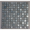 Mix Tile, Light Steel Blue With Silver