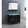 "39"" Sink Chest - Solid Wood - No Faucet, Espresso"