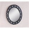 "Legion furniture 35"" Mirror, Black"
