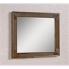 "Legion furniture 41"" Mirror, Light Brown"