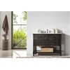 "48"" Solid Wood Sink Vanity With Marble Top-No Faucet, Antique Brown"