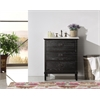 "30"" Black Color Solid Wood Sink Vanity With Marble Top-No Faucet, Black"