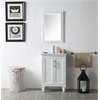 """Legion furniture 24"""" Sink Vanity With Ceramic Top-No Faucet, White"""