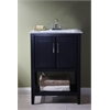 "24"" Sink Vanity Without Faucet, Espresso"