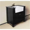 """Legion furniture 30"""" Sink Vanity Without Faucet, Espresso"""