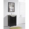 """Legion furniture 24"""" Espresso Sink Vanity, No Faucet, Espresso"""