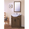 """Legion furniture 24"""" Weathered Gray Sink Vanity, No Faucet, Weathered Gray"""