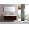 Legion furniture Sink Vanity With Mirror - No Faucet, Muti Brown