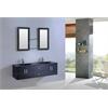 Legion furniture Sink Vanity With Mirror - No Faucet, Espresso