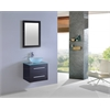 Legion furniture Sink Vanity With Mirror - No Faucet, Espresso