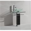 Sink Vanity Without Mirror And Faucet, Clear