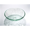Legion furniture Glass Sink Bowl, Clear