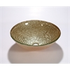Glass Sink Bowl, Champagne Gold