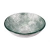 Legion furniture Glass Sink Bowl, Silver