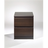 Tvilum Naia 2 Drawer Nightstand, Coffee