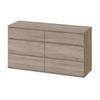 Tvilum Nova 6 Drawer Double Dresser, Truffle