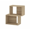 Tvilum Shape Stackable Bookcase, Oak Structure