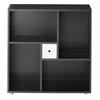 Tvilum Uno Cube Bookcase, Black