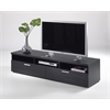 Tvilum Napoli TV Stand, Black Wood Grain