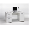 Function Plus Desk, White