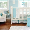 My Baby Sam Follow Your Arrow in Aqua 3pc Crib Bedding Set