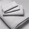 Luxury Microfiber Wrinkle Resistant Pillowcase Set KING, Silver Gray