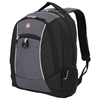 "SwissGear 18"" Backpack, Black/Grey"