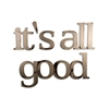 Letter2Word It's All Good Wall Decor