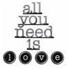 Letter2Word All You Need Is Love Wall Décor