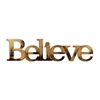 Letter2Word Believe Wall Decor