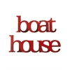 Letter2Word Boat House Wall Decor