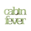 Letter2Word Cabin Fever Wall Decor