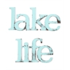 Letter2Word Lake Life Wall Decor